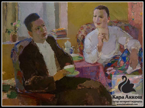Баки Урманче - В гостях у Джамбула. 1946 г.