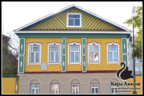 Дом в Старо-Татарской Слободе Казани
