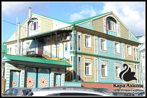 Двухэтажный дом в Старо-Татарской Слободе