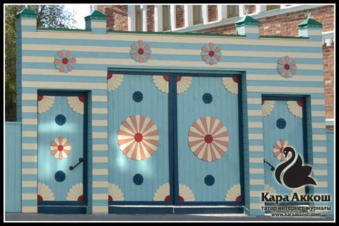 Ворота татарского дома