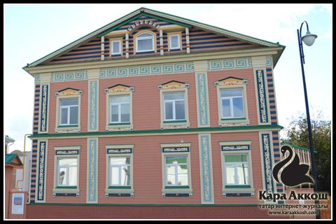 Деревянные дома Старо-Татарская слободы