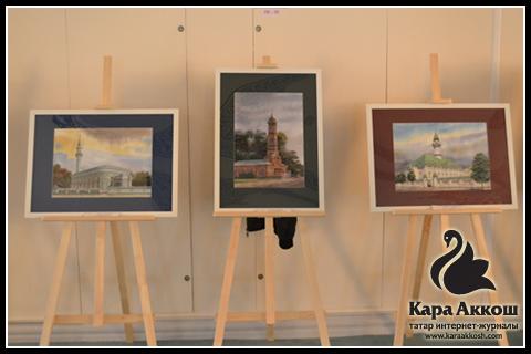Выставка картин Заслуженного архитектора Республики Татарстан - Айдарова Равиля