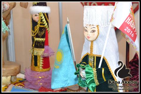 Казахская кукла