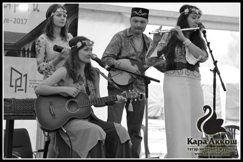 Татарская этно–фолк группы «Safra»
