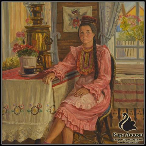 В Москве открылась персональная выставка произведений татарского художника Фирината Халикова