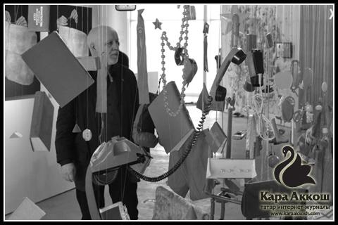 Татарские художники представили свои работы на московской выставке «Триеннале российского современного искусства»