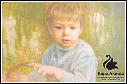 М. Саттаров - «Портрет сына»