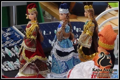 Куклы и головные уборы от Зайтуны Зиганшиной