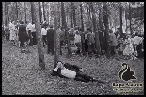 Фарит Губаев. Из серии «Сабантуй». Казань, 1984.
