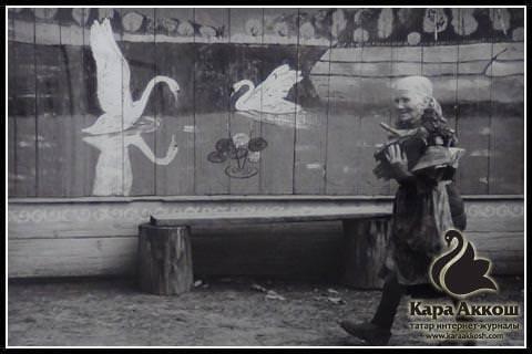 Фарит Губаев. Из серии «Деревня», 1980-е.