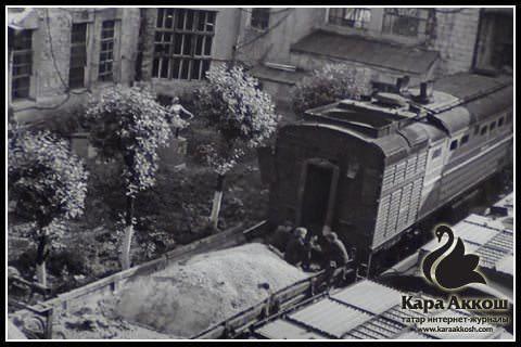 Фарит Губаев. Железная дорога, 1980-е.
