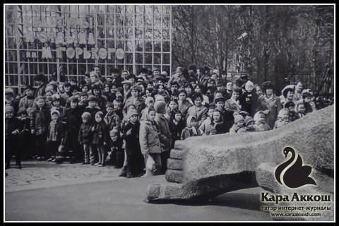 Владимир Разумейченко. Мәңгелек ут янында. Казан, 1970 еллар уртасы - 80 еллар башы.