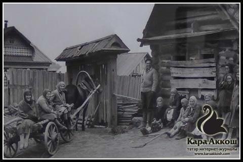 Владимир Зотов. Деревня Шатки. Татарстан, 1967.