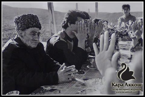 Виталий Хашев. Собрание в сельхозкооперативе, 1980-е.