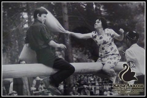 Юрий Филимонов. «Сабан туе» сериясеннән. Казань, 1980 еллар.