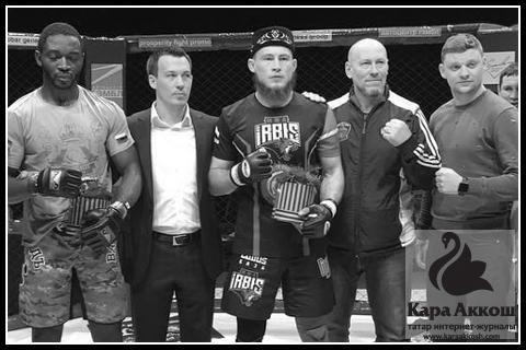 Татарский боец MMA Ринат «Gladiator» Фахретдинов подтвердил статус чемпиона
