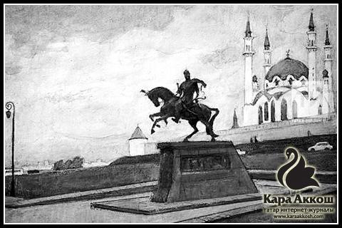Художник Рифкат Вахитов предложил установить в Казани памятник основателю Казанского ханства Улу-Мухаммеду