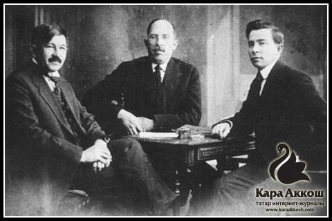 Идел-Урал штатын төзүнең идеологлары – Исхакый һәм Максуди