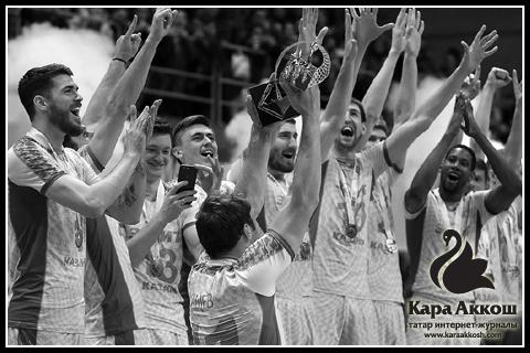 Казанский «Зенит» в девятый раз стал чемпионом России по волейболу