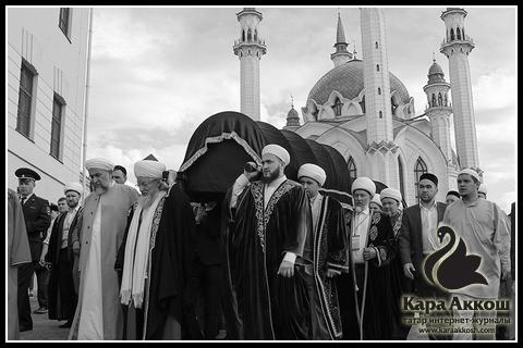 В столице Татарстана прошла церемония захоронения казанских ханов