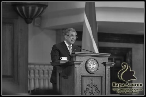 Рустам Минниханов: «Необходимо совершенствовать методику преподавания татарского языка»