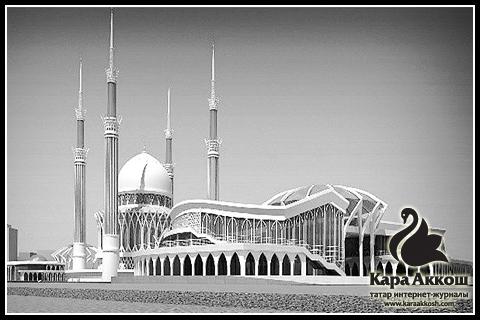 В Набережных Челнах построят самую высокую мечеть в Татарстане