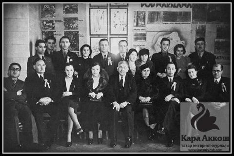 Исхаки с татарами Финляндии. Варшава. 1938 год