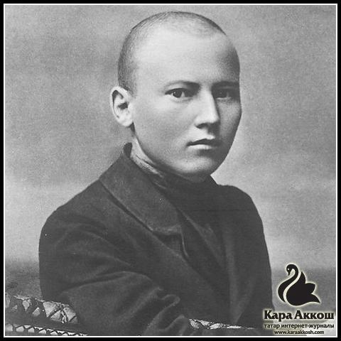 Тукай на почтовой открытке. Город Астрахань. 1911 год.