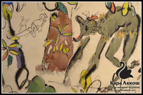 Баки Урманче - Иллюстрация