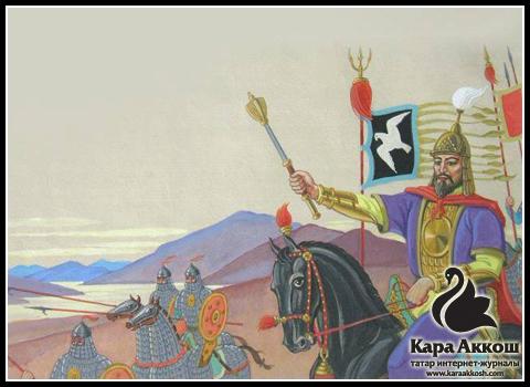 Рушан Шамсутдинов – Чингиз-хан в походе.
