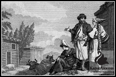 Татары глазами иностранцев
