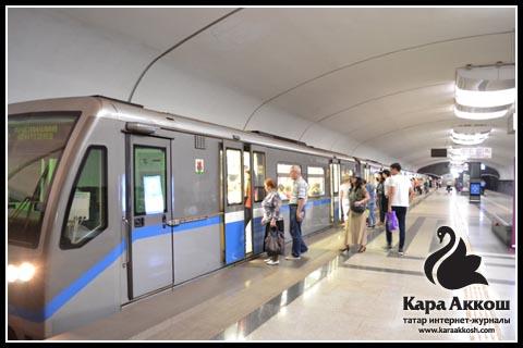 «Горки» - одна из десяти станций Казанского метро