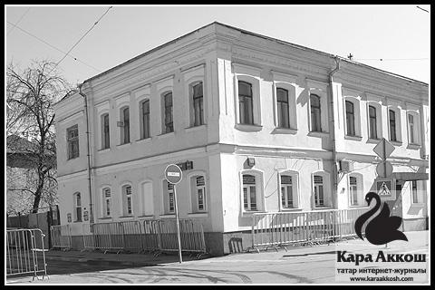 Бывший дом купца Хусаина Ерзина на Большой татарской улице