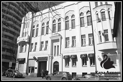 Легендарный дом Асадуллаева в Малом татарском переулке